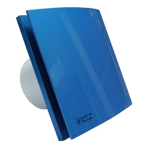 Вентилятор для ванной Soler&Palau SILENT-100 CZ BLUE DESIGN 4C