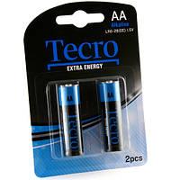 Батарейка Tecro LR6-2B(EE), 2 шт. в упаковке (Y)