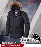 Зимняя куртка с опушкой Braggart