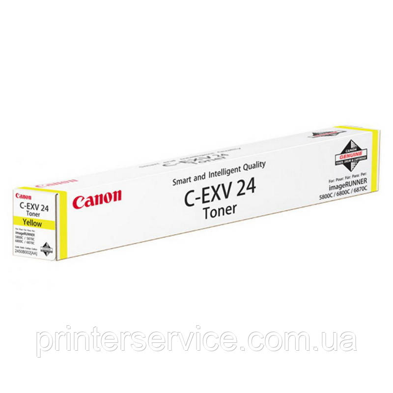 Тонер Canon C-EXV24 Yellow для iRC 5800/ 6800