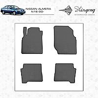 Автомобильные коврики Stingray Nissan Almera N16 2000-