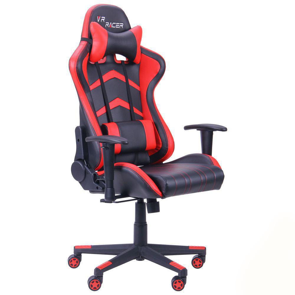 Кресло компьютерное VR Racer BN-W0105A черный/красный - Интернет-магазин мебели Office Systems 24 в Днепре