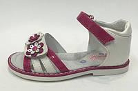 Детские босоножки КОЖА ОРТОПЕД для девочек детская летняя обувь  Том.М. 25 26 29 30
