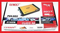 Автомобильный усилитель звука UKC Riot P4800.4 4000Вт 4-х канальный, фото 1