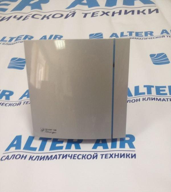 Вентилятор для ванной Soler&Palau SILENT-100 CZ SILVER DESIGN 3C