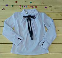Нарядная блузка  для девочки на рост 116-152 см