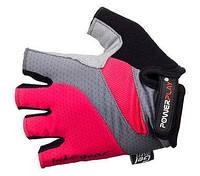Перчатки для фитнеса с гелевыми вставками Power Play (красный)