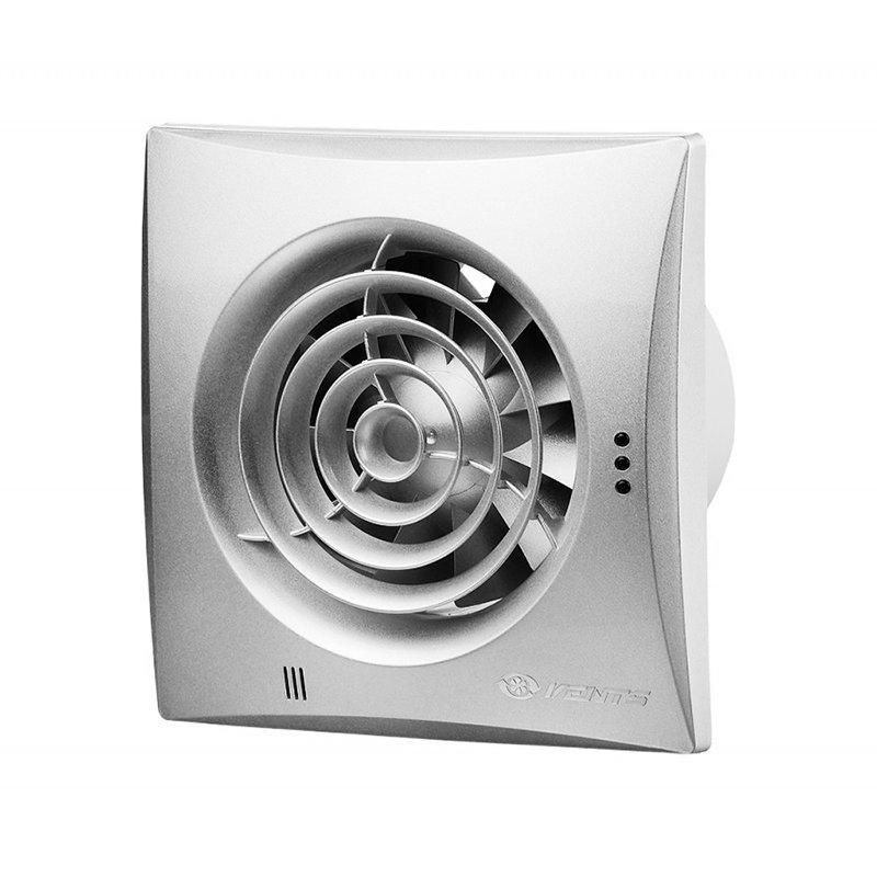 Вентилятор для ванной Вентс 100 Квайт ТН алюмат