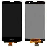 Дисплей (экран) для LG H500/H502 Magna Y90 + с сенсором (тачскрином) черный Оригинал
