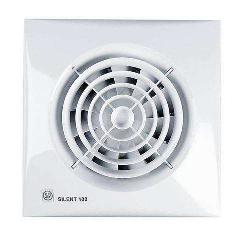 Вентилятор для ванной Soler&Palau SILENT-100 CHZ ECOWATT, фото 2