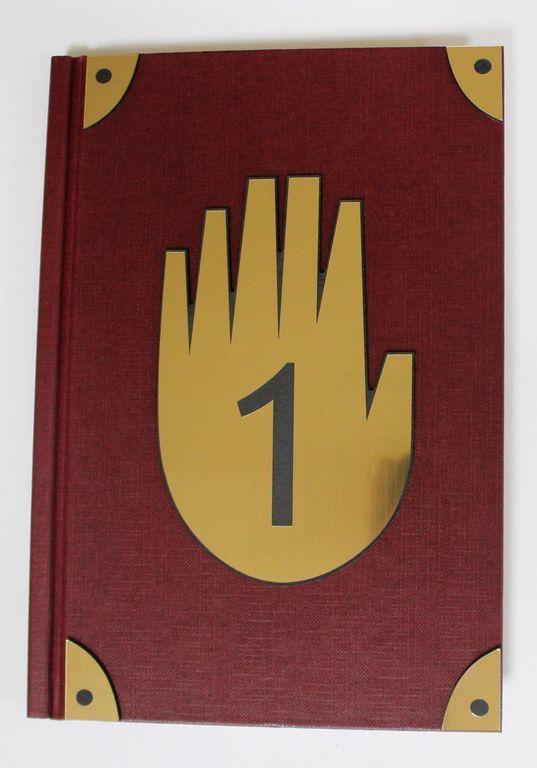 Дневник диппера 1 на русском (32 стр. С картинками + 100 чистых). Тайны городка гравити фолз. Изначально он, как и все остальные дневники,