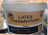 Краска фасадная TOTUS Lateх Fassadenfarbe Profi 14 кг.