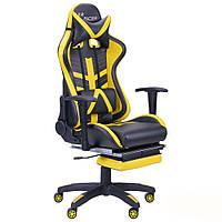 Кресло компьютерное VR Racer BN-W0110A черный/желтый