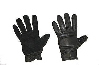 Крепкие тактические перчатки из натуральной кожи