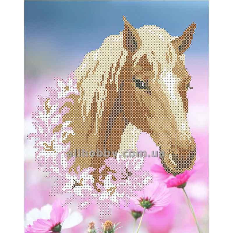 Схема для вышивания бисером Лошадь БИС3-11 (А3)