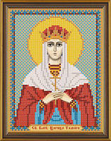 Схема для вышивки бисером Св. Блгв. Тамара Царица Грузии