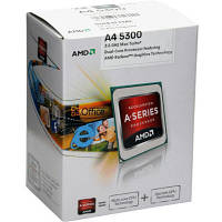 Процессор AMD Trinity A4-5300 3.4GHz/1MB (AD5300OKHJBOX) sFM2 BOX
