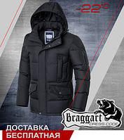 Зимняя стильная мужская куртка Braggart