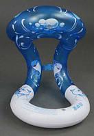 Жилет для купания младенца синий