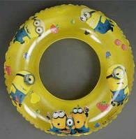 """Круг для купания желтый 70 см """"Миньоны"""""""
