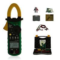 Токоизмерительные клещи MS2208 Mastech True RMS AC 2/20/200A, AC 150/300/600В Частота: 30 Гц ~ 1000 Гц
