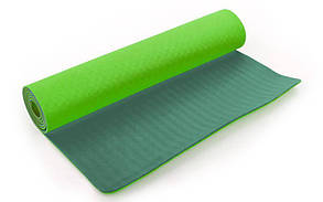 """Коврик для фитнеса 2-х. сторонний""""Yoga mat"""". Килимок"""