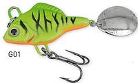 Блесна вертушка Predator-Z Lead Fish G-01