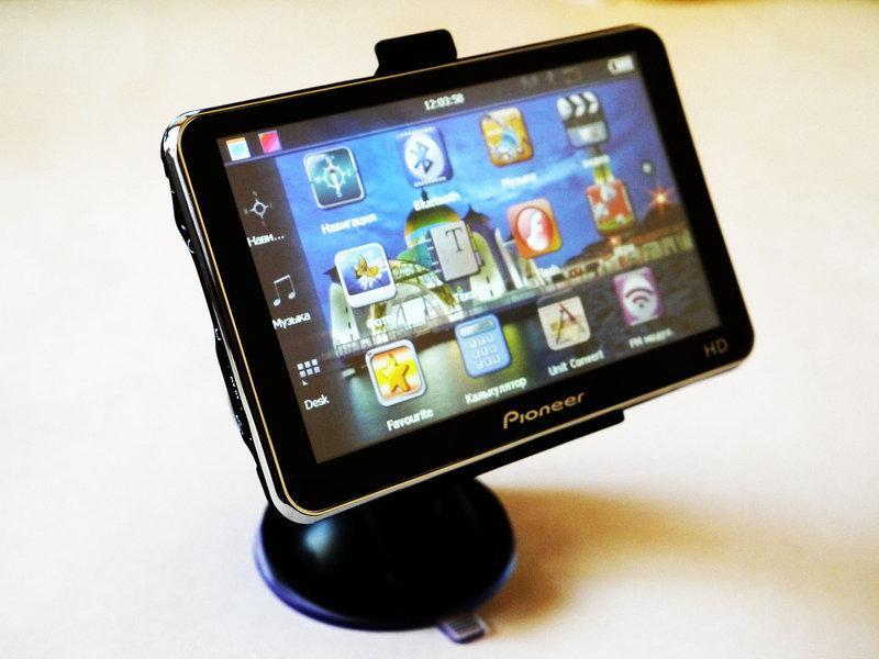 "5"" GPS Навігатор Pioneer HD - 4Gb+AV-in+BT+FMT"