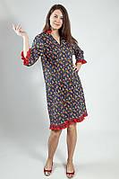 Платье женское Markshara джинсовое длинный рукав