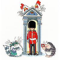 """Набор для вышивания Bothy Threads London on Parade """"Почетный караул"""", XMS10"""