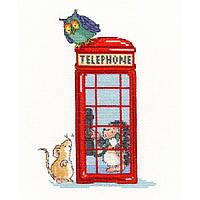 "Набор для вышивания Bothy Threads London Calling ""Телефонная будка"", XMS9"
