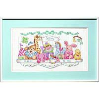 Набор для вышивания Dimensions 03729 Toy Shelf Birth Record Cross Stitch Kit