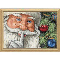 Набор для вышивания Dimensions 08799 Santa's Secret Cross Stitch Kit