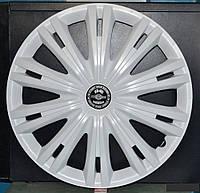 R15 Колпаки на колеса диски для дисков R15 белые колпак K0169