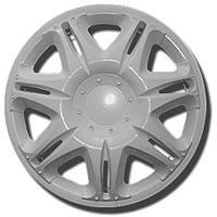 Колпаки на колеса диски для дисков R 15 белые Наскар