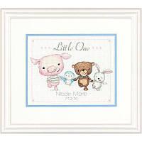Набор для вышивания Dimensions 70-74132 Little One Birth Record Cross Stitch Kit