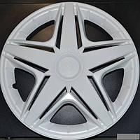 Колпаки на колеса диски для дисков R 15 белые Нхл