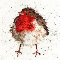 """Набор для вышивания Bothy Threads Jolly Robin """"Праздничный Робин"""", XHD5"""