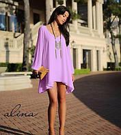 Женское стильное платье-туника АБХ 206