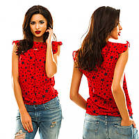 Блуза женская летняя шифоновая Звезды 32 разные цвета,магазин женской одежды