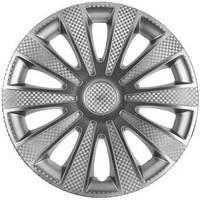 Колпаки на колеса диски для дисков R 15 карбон Карат