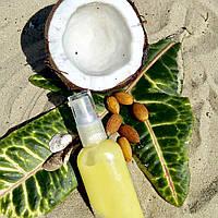 Натуральный солнцезащитный крем-масло для лица и тела SPF 20 с маслом кокоса
