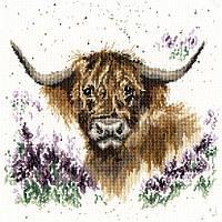 """Набор для вышивания Bothy Threads Highland Heathers """"Вересковое плато"""", XHD9"""