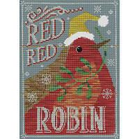 """Набор для вышивания Bothy Threads Red Red Robin """"Красный Робин"""", XVC3"""