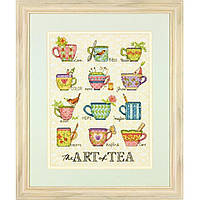 Набор для вышивания Dimensions 70-35335 The Art of Tea Cross Stitch Kit