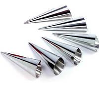Набор 6 форм Empire для конусных трубочек Ø35х130мм (6 трубочек)