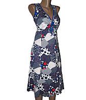 Женский сарафан с завязками