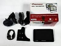 "5"" GPS Pioneer PI-8388 DVR + Видеорегистратор + Bluetooth +AV-in"
