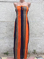 Женский сарафан  Оранжевый