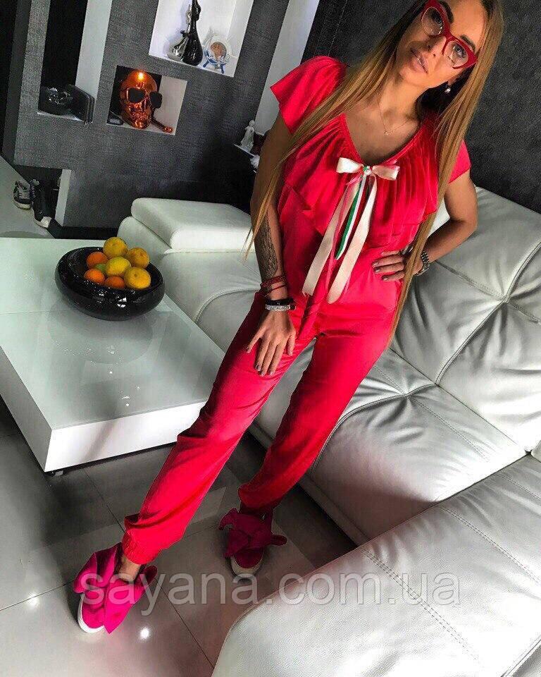 """Женский стильный костюм """"ITALY"""" в расцветках. ОЛ-11-0617"""
